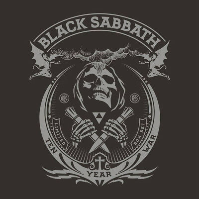BLACK SABBATH - TEN YEAR WAR - 1st. EDITION  Mailed From Los Angeles, NEW & MINT