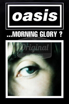 Original Oasis poster - What's the story morning glory? (Liam Gallagher)