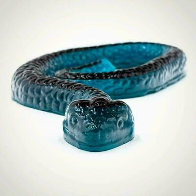 Giant Snake Gummy Edible Jumbo 2ft Long Fruit Flavor Food Sweets Kids Party Gift