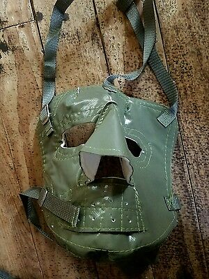 Cold weather olive green  military face mask