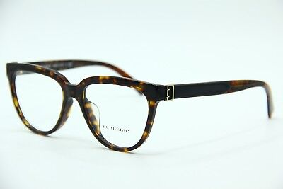 dc5f956230 New Burberry B 2268 3681 Havana Eyeglasses Authentic Frames Rx B2268 53-16