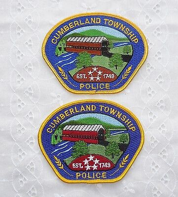 Two Cumberland Township Police Pennsylvania Covered Bridge Pa