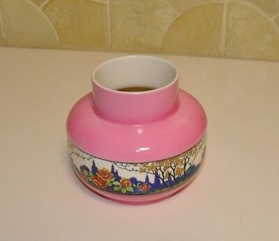 Falcon Ware Vase Pink T Lawrence England