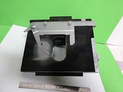 Microscope Part Leitz Germany Stage Table Micrometer Ortholux Ii As Is B#11-E-07