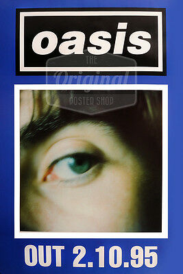 Original litho-printed Oasis tour poster - What's the story morning glory