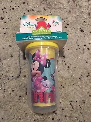 Disney The First Years Minnie Mouse Insulated Sippy Cup 9+Months