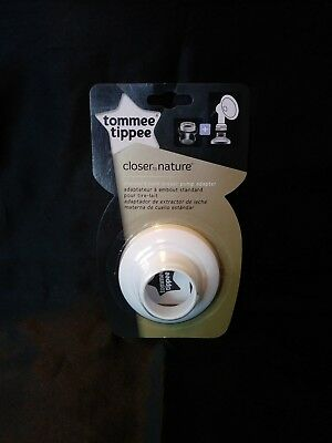 NEW Tommee Tippee Closer to Nature Breast Pump Adapter, Standard Neck, FREE 📬📬