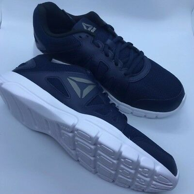 New Reebok Mens Trainfusion Nine 2.0 Lmt Navy Running Shoes Size 10.5