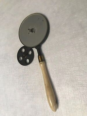 Antique Non Luminous Ophthalmoscope French Follin Style Ophthalmology