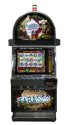 Igt Tabasco Video Machine With Brand New Lcd Screen, Free Shipping