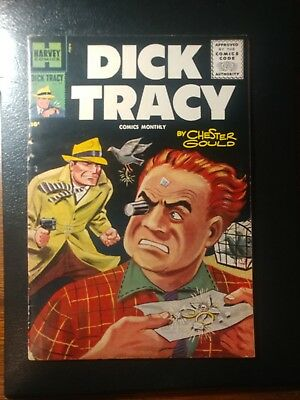 Dick Tracy #99 🎅 Ow/white Pages 1956 Scarce  Copy