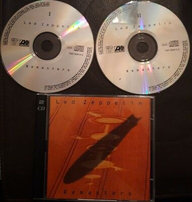 Led Zeppelin Remasters Double CD