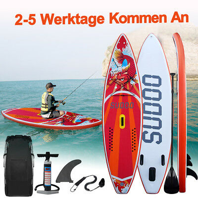 SUP Board Stand Up Paddle Surf-Board aufblasbar  Paddel Paddling 300cm SUDOO