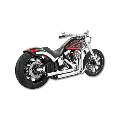 Echappement Freedom Performance Staggered Duals chrome Softail 86-17