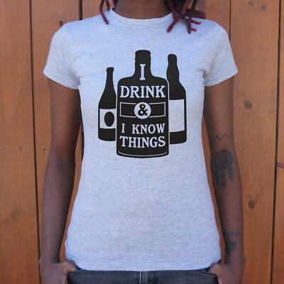 Game of Thrones | I Drink And I Know Things T-Shirt (Ladies)