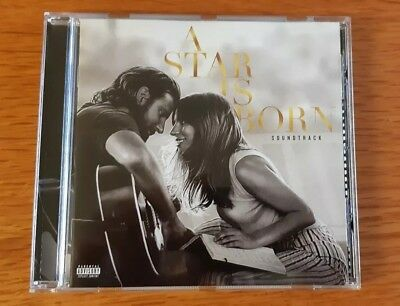 A Star is Born Soundtrack CD Lady GaGa and Bradley Cooper