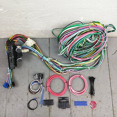 1948 1956 f1 or f100 ford truck wire harness upgrade kit fits 2003 Ford Focus Wiring Harness 1948 1956 ford truck wire harness upgrade kit fits painless fuse new circuit