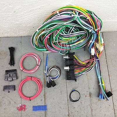 1949 - 1951 Mercury Wire Harness Upgrade Kit fits painless new ...  Hudson Wiring Harness on