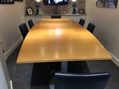 Office Boardroom Table 3.4m x 1.4m (Large Conference Table)
