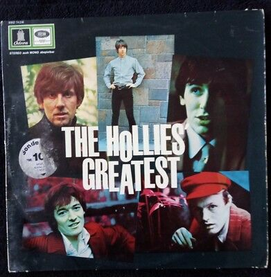 The Hollies - The Hollies Greatest - LP D 1968  Odeon SMO 74236 RAR !!