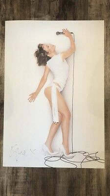 Kylie Minogue Signed Litho Fever 2002 Poster