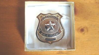 Gold Special Police Shield Badge