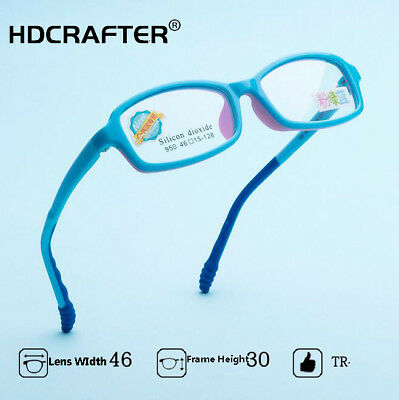 2804492f0dda Student Silicone Optical Eyeglasses Frame Children TR90 Frame Myopia Glasses