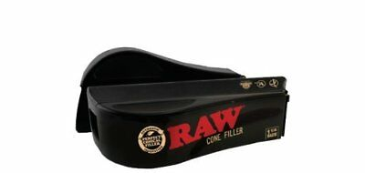 Raw Natural Rolling Papers Cone Filler Shooter Machine 1 1/4 Size Tobacciana