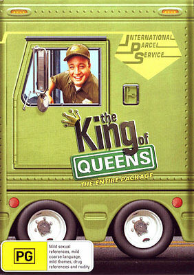 The King of Queens: The Entire Package (Seasons 1 - 9)  - DVD - NEW Region 4