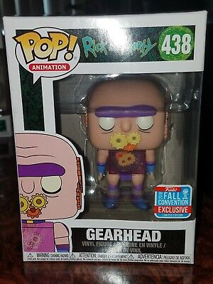 Funko Pop Rick and Morty: GEARHEAD #438  (2018 NYCC Exclusive)