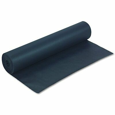 "Rainbow Colored Kraft Paper Roll - 36"" X 1000 Ft - Black (PAC63300)"