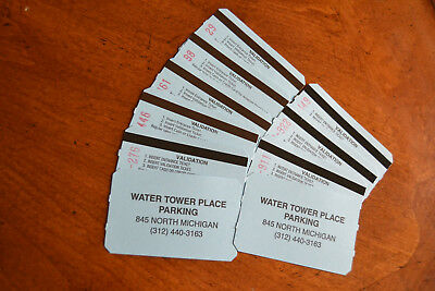 WATER TOWER PLACE CHICAGO 10 PARKING PASS 24 HRS PrePaid Tickets - Save Big!