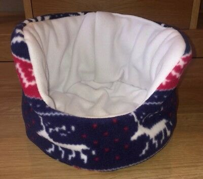 Xmas Reversible Guinea Pig/ Small Pet Cuddle Cup