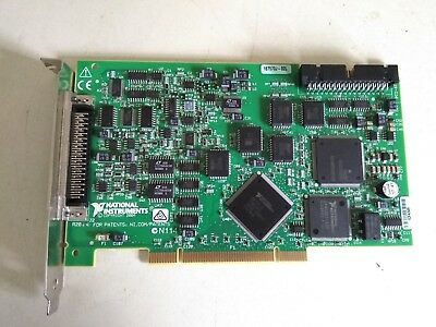 National Instruments PCI-6024E Multifunction DAQ 16 SE/8 DI analog inputs 12-bit