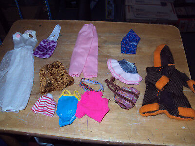 Barbie Doll Clothes and Accessories * Lot 4 * Various Items *