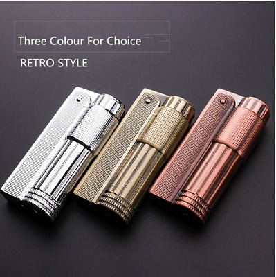 New Vintage IMCO Style Butane Gas Lighter Unique 3 Colours