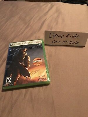 Halo 3 Brand New DO NOT SELL BEFORE LABEL Microsoft Xbox 360, 2007)