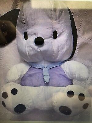 "Vintage 1997 Sanrio POCHACCO Dog Nylon Plush 9"" Pre-Owned"