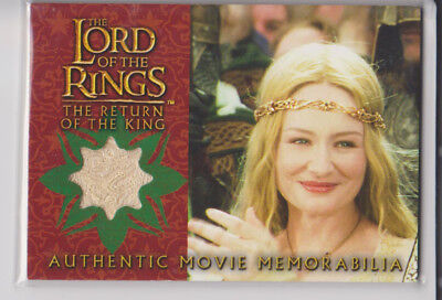 Lord of the Rings Memorabilia Costume Card-  Eowyn´s Coronation Dress -Topps