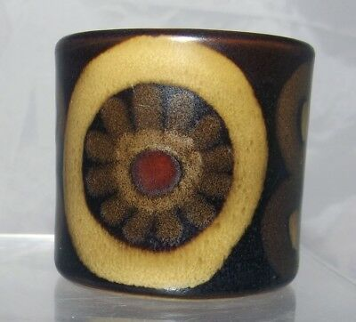 Denby Pottery Arabesque Pattern Egg Cup made in Stoneware