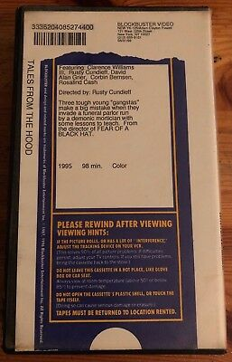 Tales From the Hood (FORMER RENTAL Blockbuster VHS)