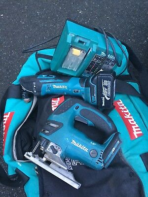 MAKITA 18V LXT JIG SAW And Multi Tool WITH BATTERY And Charger