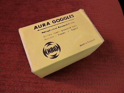 Aura Goggles  Aura Brille Metaphysical Research Group - Hastings England neu&OVP