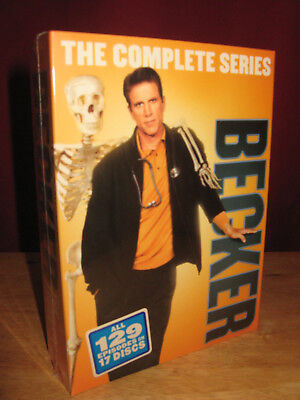 Becker The Complete Series,all 6 Seasons,129 Episodes,17 Dvd Disc Boxset