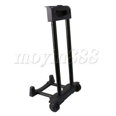 32cm Base Width Luggage Cart Rolling Shopping Portable Hand Trolley Rod