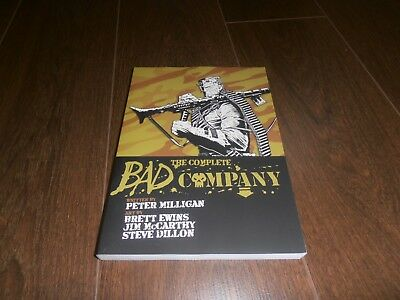THE COMPLETE BAD COMPANY 2000ad comics rare TPB graphic novel book