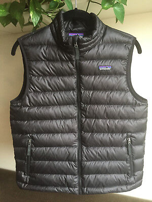 Patagonia Boyskids Down Vest Size Xl Amazing Condition 3300
