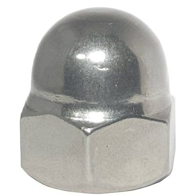 5/16-18 Acorn Cap Nuts Stainless Steel 18-8 Standard Height Quantity 500