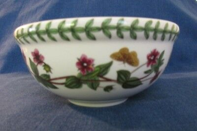 "Portmeirion Botanic Garden ~ Cyclamen ~ fruit or cereal bowl ~ 5 1/2"" diameter"