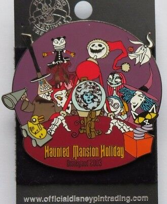 Disney Dlr Haunted Mansion Holiday 2003 Nightmare Before Christmas Jack Zero Pin